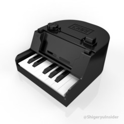 Fichier STL Nintendo labo Piano 3d print and improvements, Shigeryu
