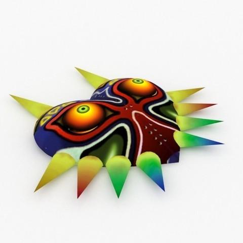 3d Printing Model Masque Du Jeu Zelda Majora S Mask ・ Cults