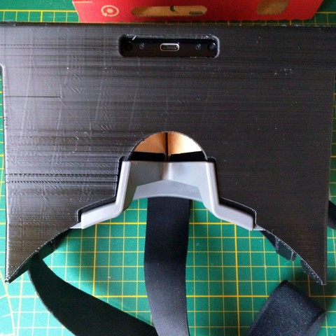 "Bottom.jpg Download STL file Nintendo labo vr-kit accessory ""VR headset"" • 3D printing template, Shigeryu"