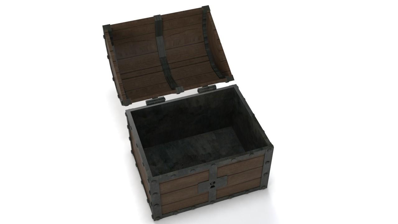 8.jpg Download STL file Treasure chest (Zelda: Ocarina of time) • 3D printable object, Shigeryu