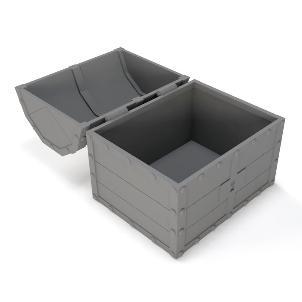 12.jpg Download STL file Treasure chest (Zelda: Ocarina of time) • 3D printable object, Shigeryu