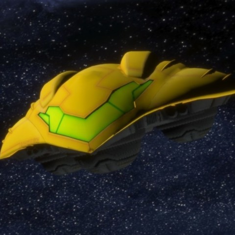STL Metroid other M Spaceship, Shigeryu