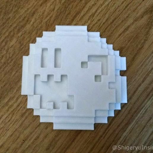 PixelBoo.jpg Télécharger fichier STL gratuit Pixel Boo • Modèle imprimable en 3D, Shigeryu