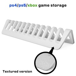 TexturedVersion.jpg Télécharger fichier STL Ps5 Game cases storage • Design imprimable en 3D, Shigeryu