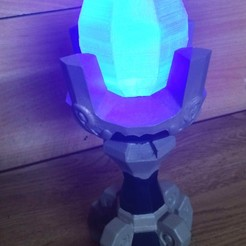 Download STL files Blue flame pedestal from Zelda Breath of the wild, Shigeryu