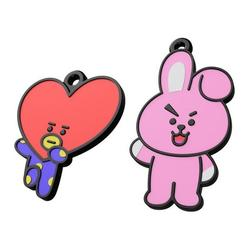 Télécharger plan imprimante 3D BTS Tata and Cooky Keyring, Shigeryu
