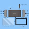 SwitchPrintMap01.png Download STL file Nintendo switch modèle • 3D print design, Shigeryu