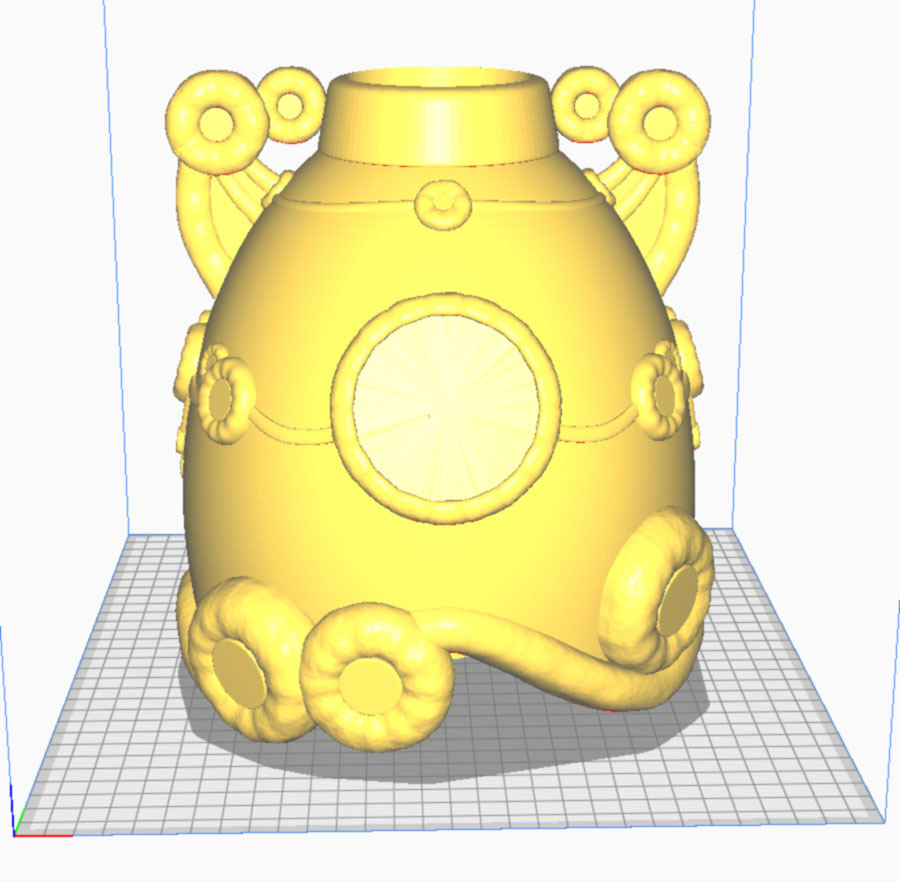 cura1-1.jpg Download STL file Baby guardian Hyrule Warriors • 3D printer template, Shigeryu