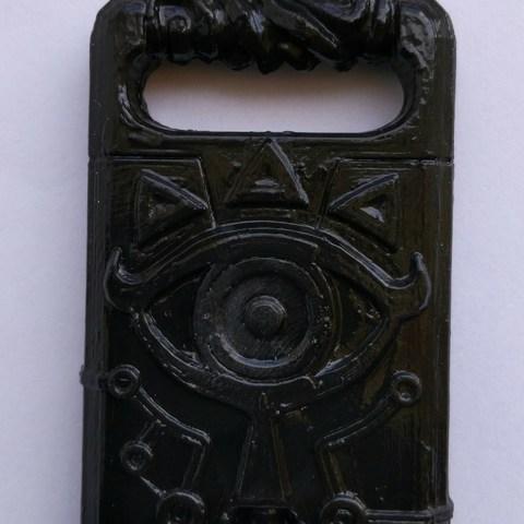 IMG_20181003_131349.jpg Download STL file Sheikah slate Keychain version (Keychain) • 3D print design, Shigeryu