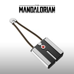01.jpg Download STL file The Mandalorian Tracking fob (Positioning Sensor) • 3D printer template, Shigeryu