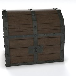 Treasure chest (Zelda: Ocarina of time) 3D printer file, Shigeryu