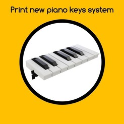 STL Nintendo labo Piano keys improvements and more, Shigeryu