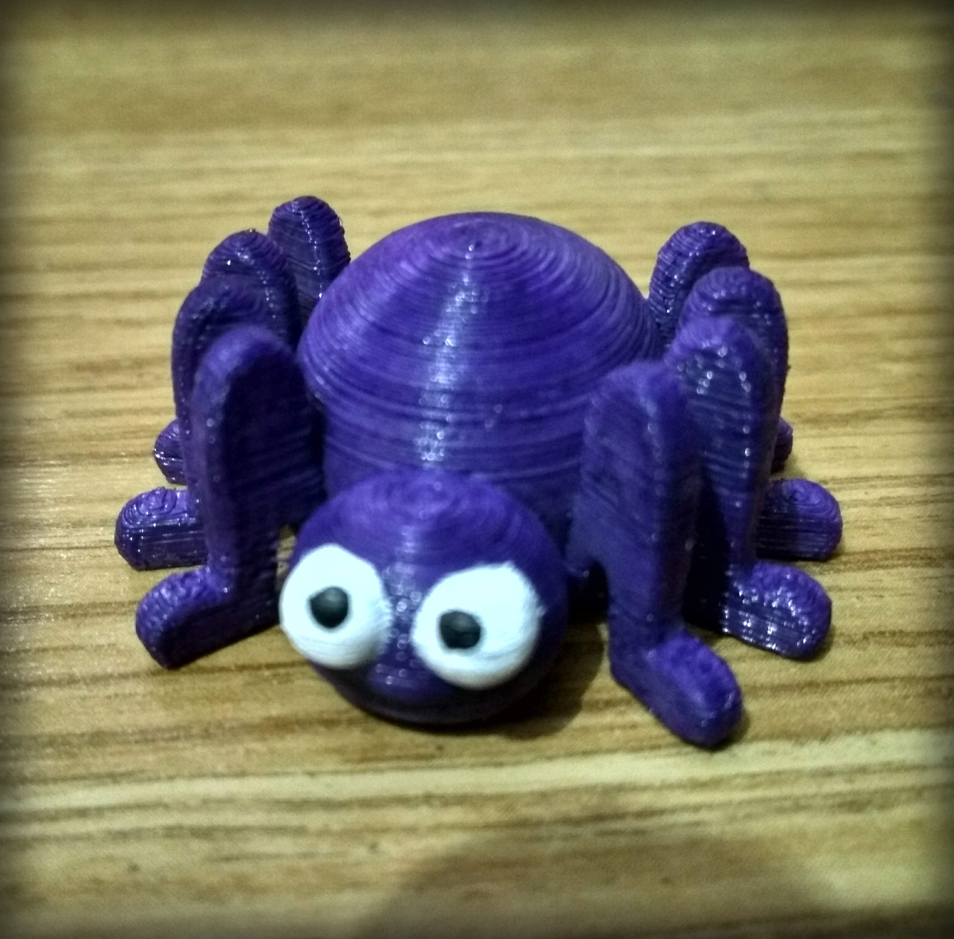 01.jpg Download free STL file Small spider • Model to 3D print, Shigeryu