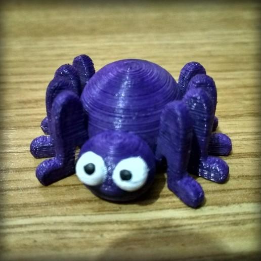 Télécharger fichier 3D gratuit Pettite araignée, Shigeryu