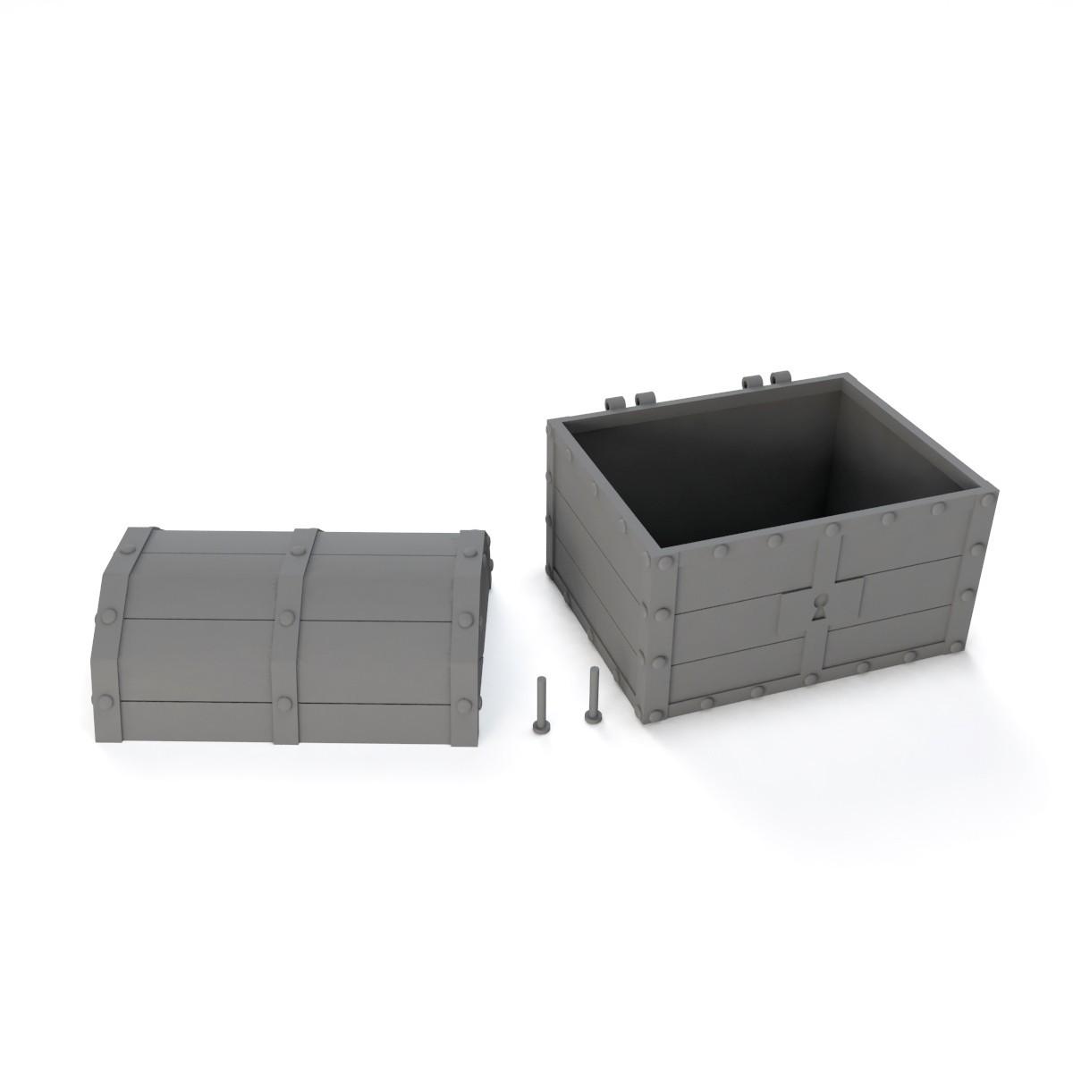 13.jpg Download STL file Treasure chest (Zelda: Ocarina of time) • 3D printable object, Shigeryu