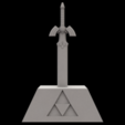 Download STL file Master sword Ocarina of time • 3D printing template, Shigeryu