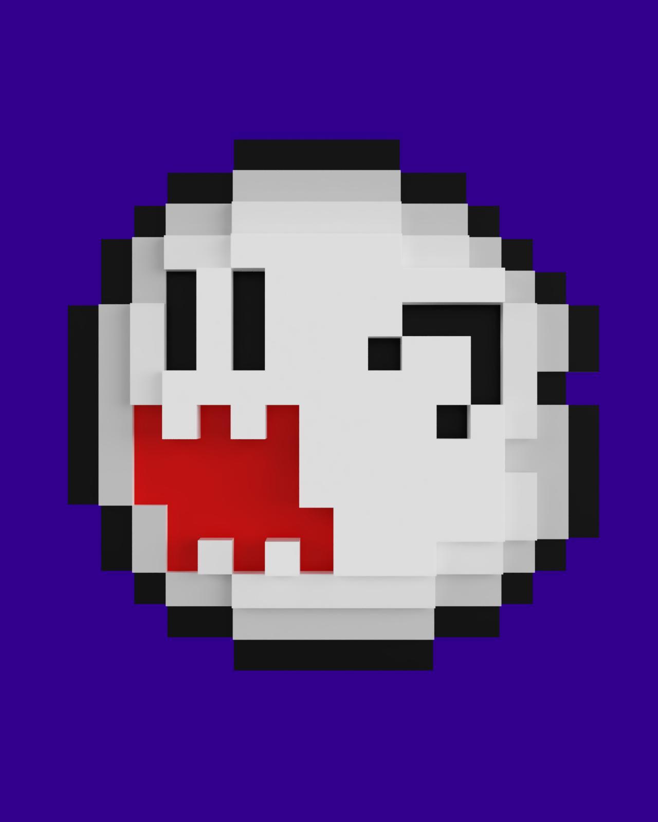 PixelBoo_2019-Aug-29_04-53-48PM-000_CustomizedView28781006241.jpg Télécharger fichier STL gratuit Pixel Boo • Modèle imprimable en 3D, Shigeryu