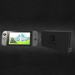 3D print model Nintendo switch modèle, Shigeryu