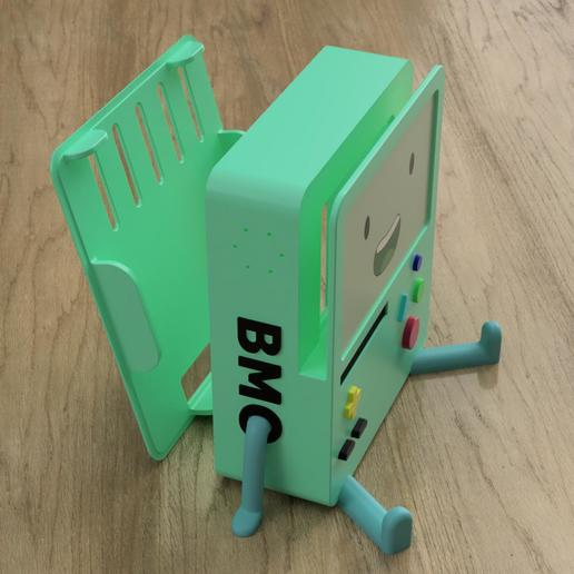 d733d60b-32e3-43f7-8757-7849abd3ea65.JPEG Download STL file BMO Stand for Nintendo switch • 3D printing template, Shigeryu