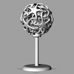 Descargar Modelos 3D para imprimir gratis Lámpara de doble estrella, Protonik