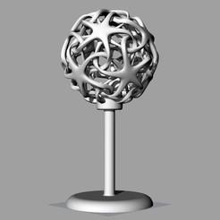 Download free 3D printer designs Double star lamp, Protonik