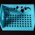 Descargar modelos 3D para imprimir Estantería de baño, Protonik