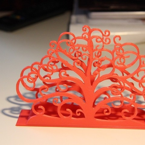 Free Tree of life napkin holder 3D model, Protonik