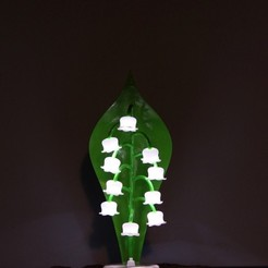 IMG_4636.JPG Download free STL file Lily of the valley lamp • 3D printer template, Protonik