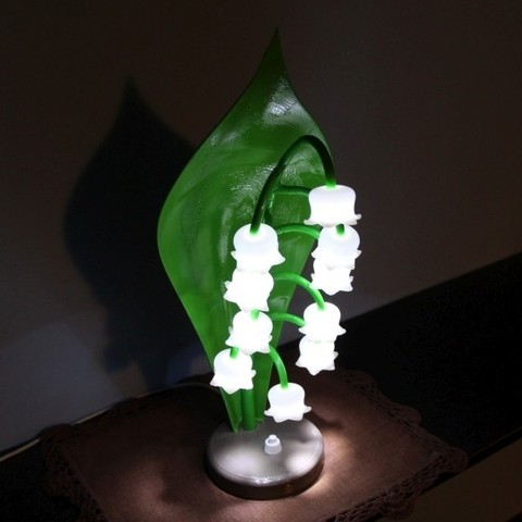 Free 3D file Lily of the valley lamp, Protonik