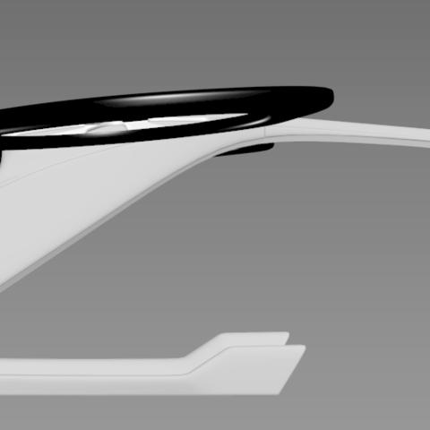 1.png Download STL file Futuristic aircraft DIY 3d model • 3D printer object, NewCraft3D