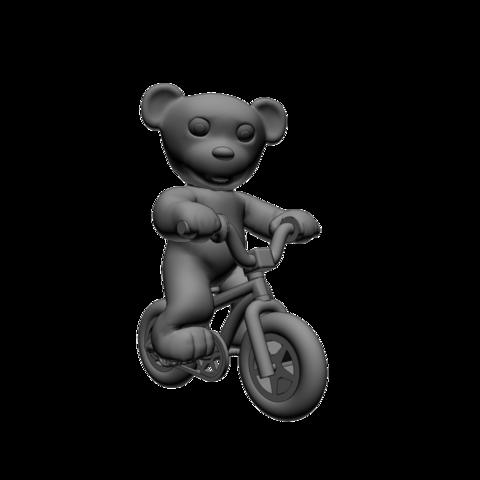 Download free 3D print files Nounours Velo BMX, Steph