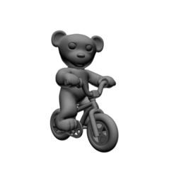 Download free 3D print files Nounours Velo BMX, Steph