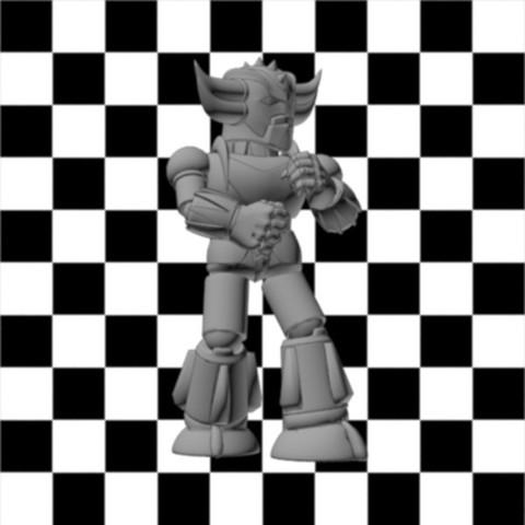 Goldorak.jpg Download free STL file Figurine Mini Goldorak • 3D print design, Steph