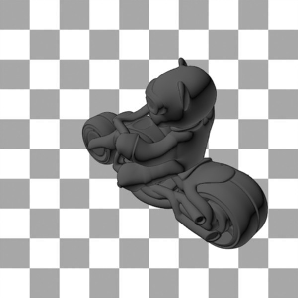 Teddy Bear biker2.jpg Download free STL file Teddy bear biker • 3D print design, Steph