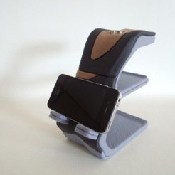 Free smarthone and tablet PC stand - uni-stand-P - STL file, masa_4dc