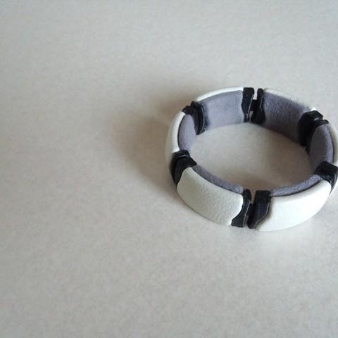 Free 3D printer file flexible kimekomi bracelet_02, masa_4dc
