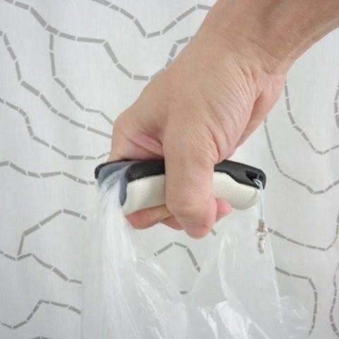 Free 3d printer files Plastic Bag Grip, masa_4dc