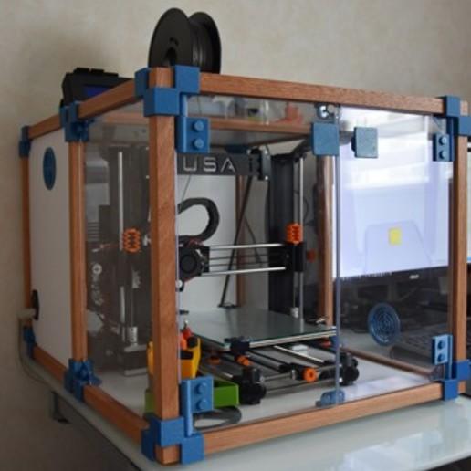 Descargar modelos 3D gratis Caja para Prusa I3, fran27