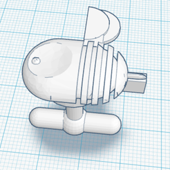 Download free 3D model BEE_Cufflinks, fmendes75