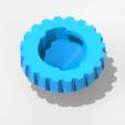 Pointe B-Blade2.png Download free STL file Beyblade Toupie Tip • 3D printing design, emajo