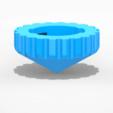 Modelos 3D para imprimir gratis avanzada Beyblade, emajo