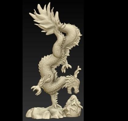 seite.jpg Télécharger fichier OBJ gratuit Dragon chiniese • Modèle à imprimer en 3D, schneck