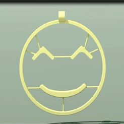 smiley_bienv_1.JPG Download free STL file Benevolent Emoji • Template to 3D print, 3d-fabric-jean-pierre