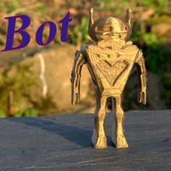 3D print model Bot, 3d-fabric-jean-pierre