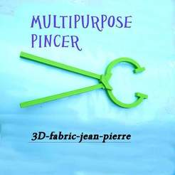 Fichier STL Multipurpose pincer, 3d-fabric-jean-pierre