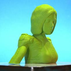 3D printer files Alita: battle angel bust version, 3d-fabric-jean-pierre