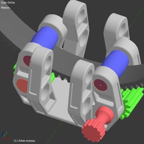 Arbre_Rouleau_exterieur_1.JPG Download STL file Armillary phone Holder • Design to 3D print, 3d-fabric-jean-pierre