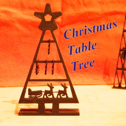 Download STL file Table christmas tree • 3D printable object, 3d-fabric-jean-pierre