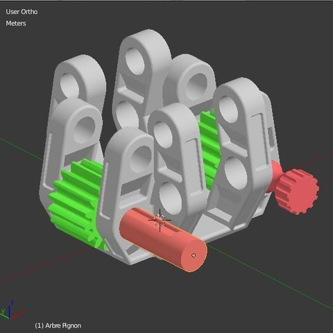 Arbre_pignon_1.JPG Download STL file Armillary phone Holder • Design to 3D print, 3d-fabric-jean-pierre