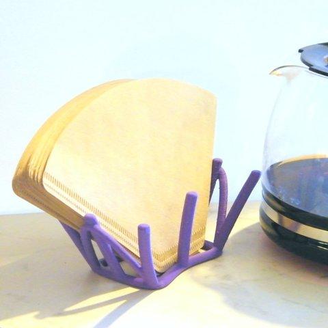 Download 3D model Coffee filter holder, 3d-fabric-jean-pierre